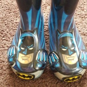 BATMAN rain boots toddler